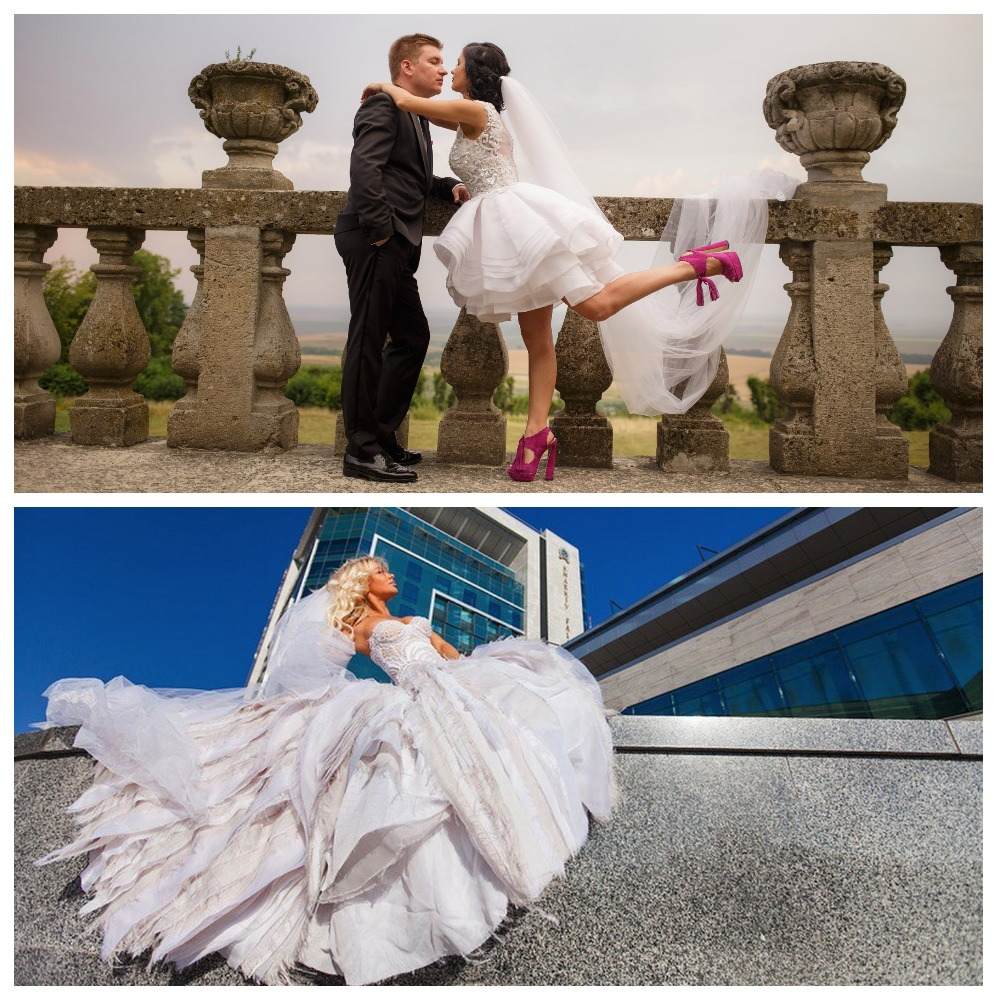 Expensive and Inexpensive Wedding Dresses by Andrey Kovalenko