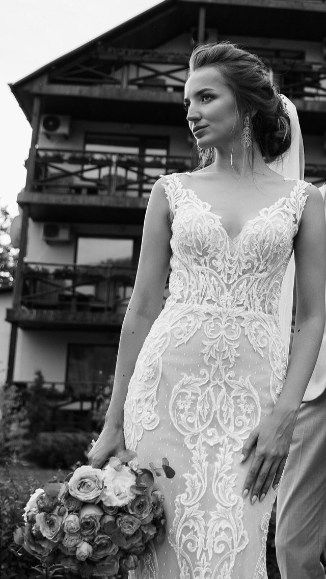 Beautiful Beverly Bride. Milena Collection