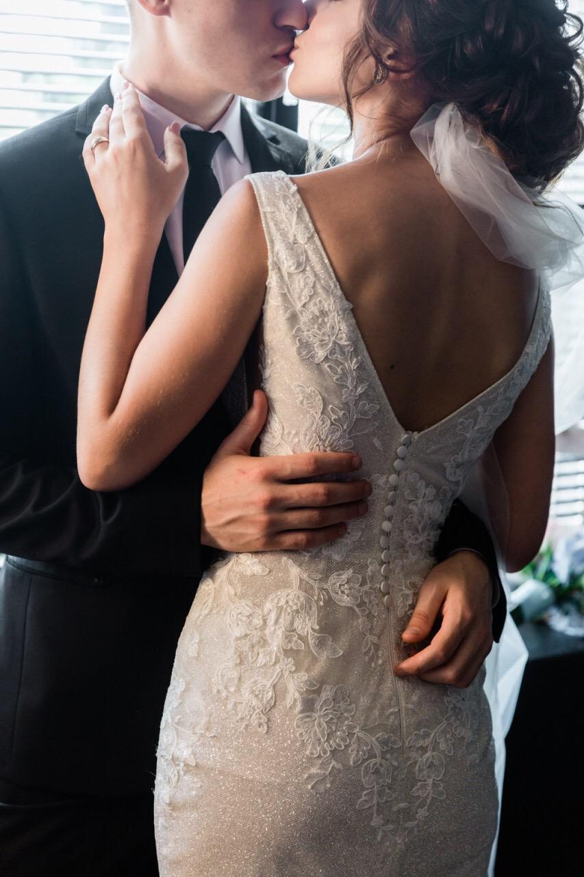 Wedding Dress Photo. Real Beverly Bride