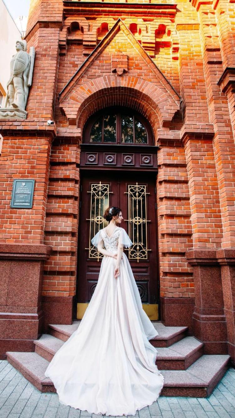 Wedding Dress Photo . Real Beverly Bride