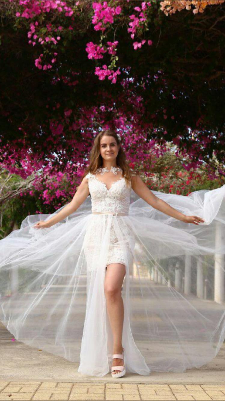 Transformer Wedding Dress from Beverly Bride