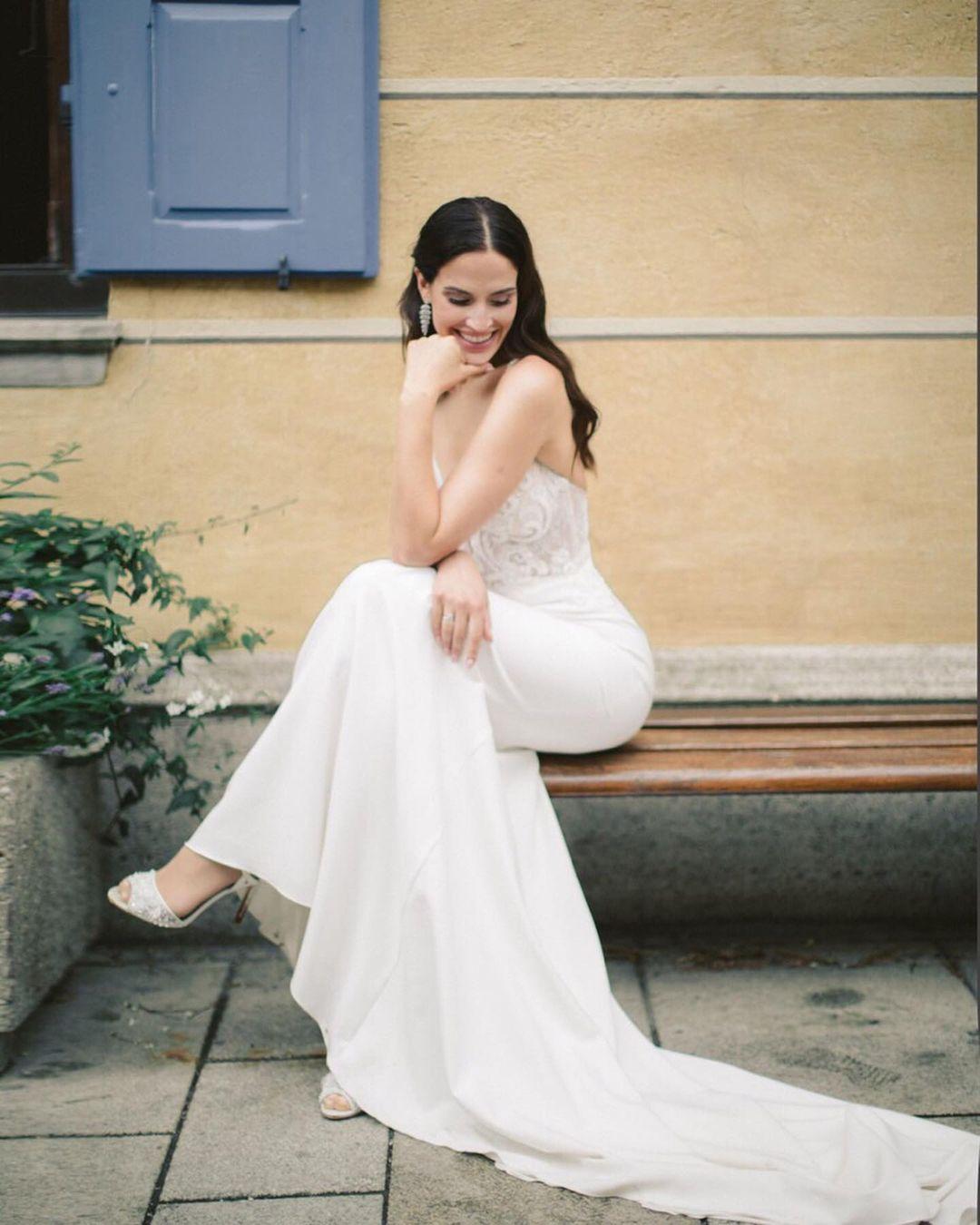 Наша невеста Марина в свадебном платье BeverlyBride