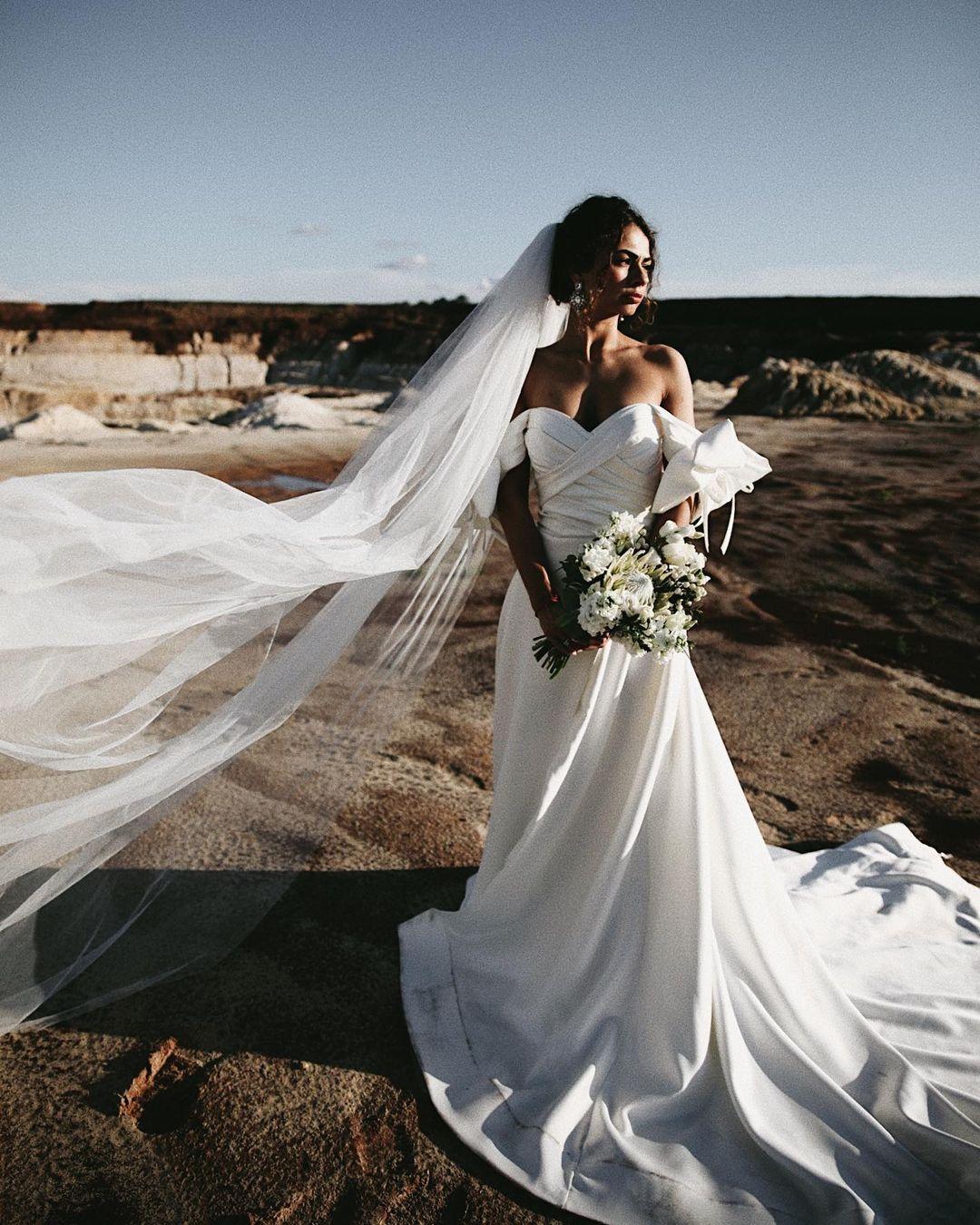 RealBeverlyBride#WeddingGown#ANGELINA