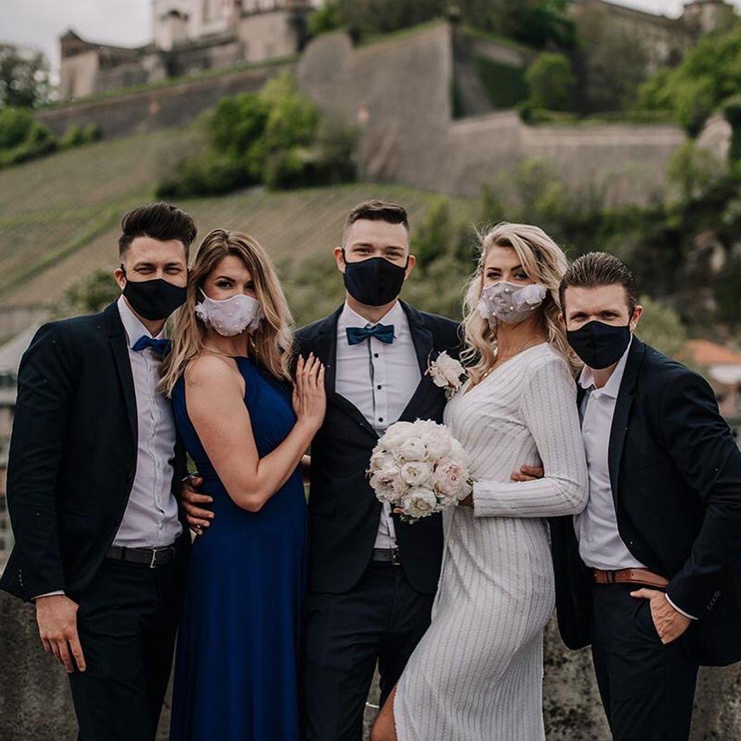 Свадьба в период пандемии