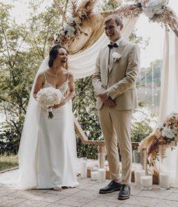 Фото счастливой невесты