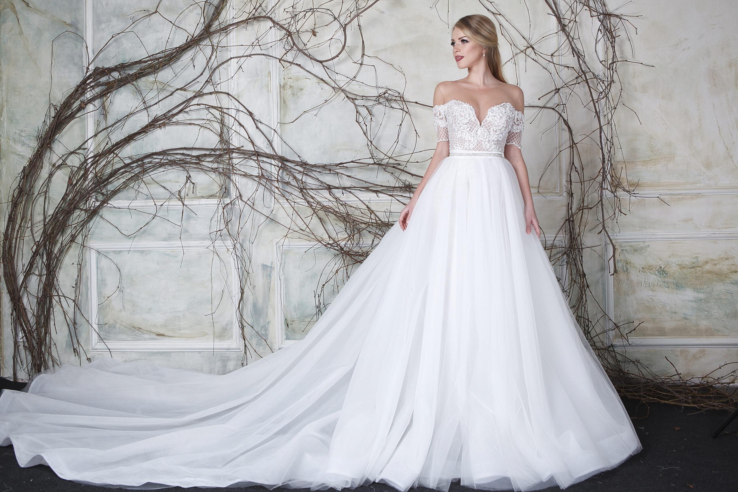 BeverlyBride TM Wedding Dresses. Backstage